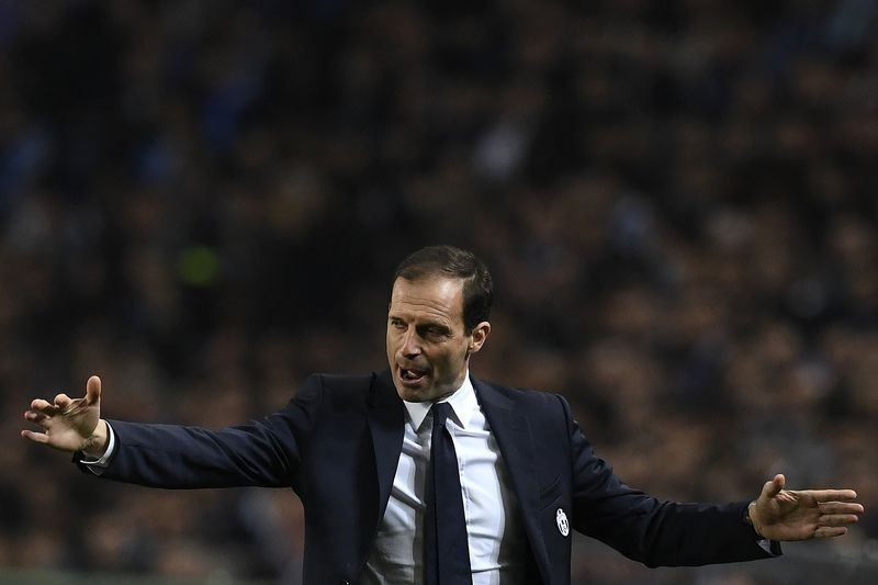 Massimiliano Allegri • FRANCISCO LEONG / AFP