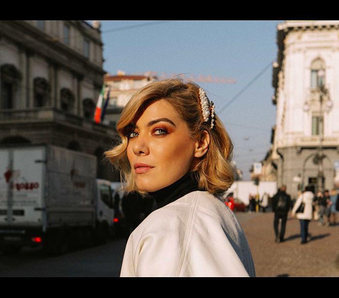 00fd39ee3a Raquel Strada brilha na Semana da Moda de Milão - Estilos - SAPO ...