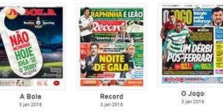 Jornal Abola Sapo Desporto