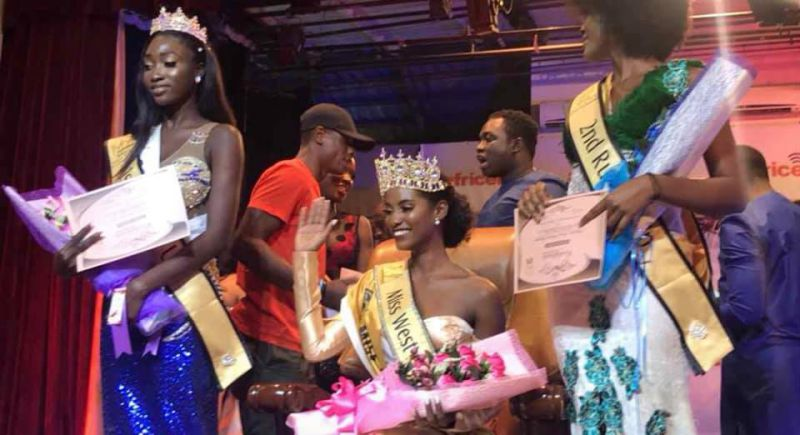Dandira Veiga coroada Miss West Africa International 2018/2019