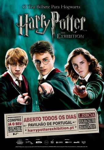 Harry Potter The Exhibition - Março 2020