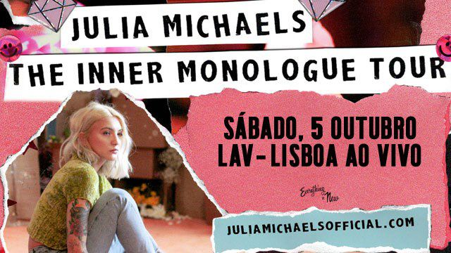 JULIA MICHAELS - THE INNER MONOLOGUE TOUR