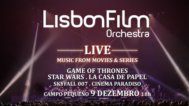 LISBON FILM ORCHESTRA LIVE MUSIC FROM MOVIES&SERIE