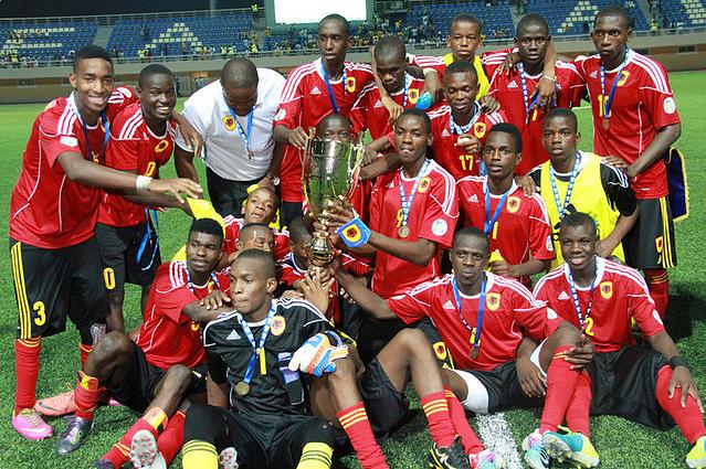 Futebol: Avançado angolano sagra-se melhor marcador do CAN de sub-17