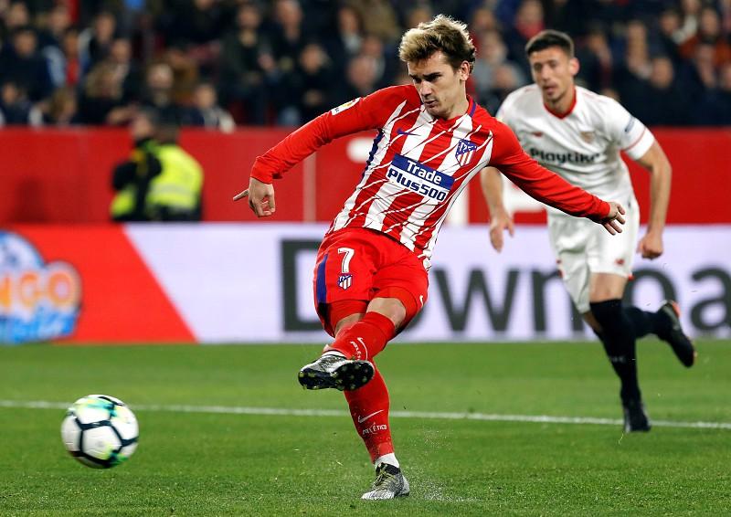 Atlético de Madrid goleia Sevilha e continua perseguição ao Barcelona f0b324ffdd589