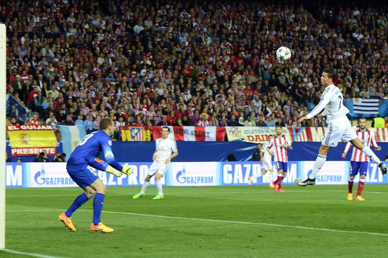 Oblak trava o Real Madrid • Oblak foi decisivo diante do real • AFP