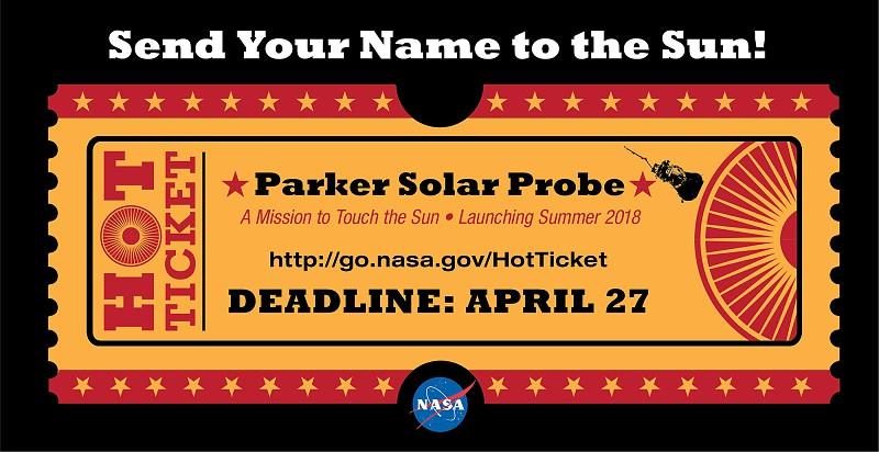 Sonda Parker da NASA pode levar o seu nome numa viagem ao Sol