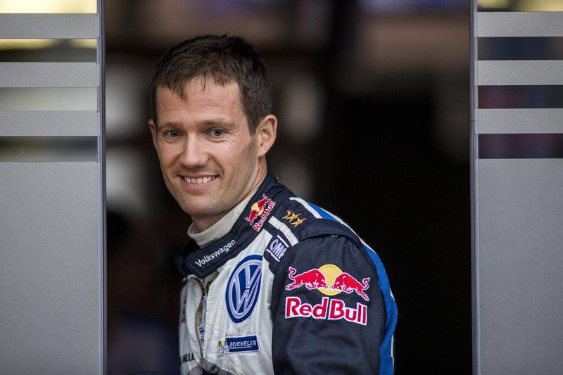 Rally Finland 2016 • epa05445977 Sebastien Ogier of France during day 1 of the Finland Rally 2016 in Jyvaskyla, Finland, 28 July 28, 2016.  EPA/Nikos Mitsouras • Lusa
