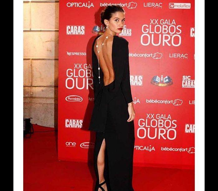 4777c845f Sara Sampaio agradece quinto Globo de Ouro - Atualidade - SAPO Lifestyle
