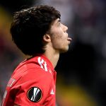 epa07514849 Benfica's Joao Felix reacts during the UEFA Europa League quarter final second leg soccer match between Eintracht Frankfurt and Benfica Lisbon in Frankfurt, Germany, 18 April 2019.  EPA/SASCHA STEINBACH