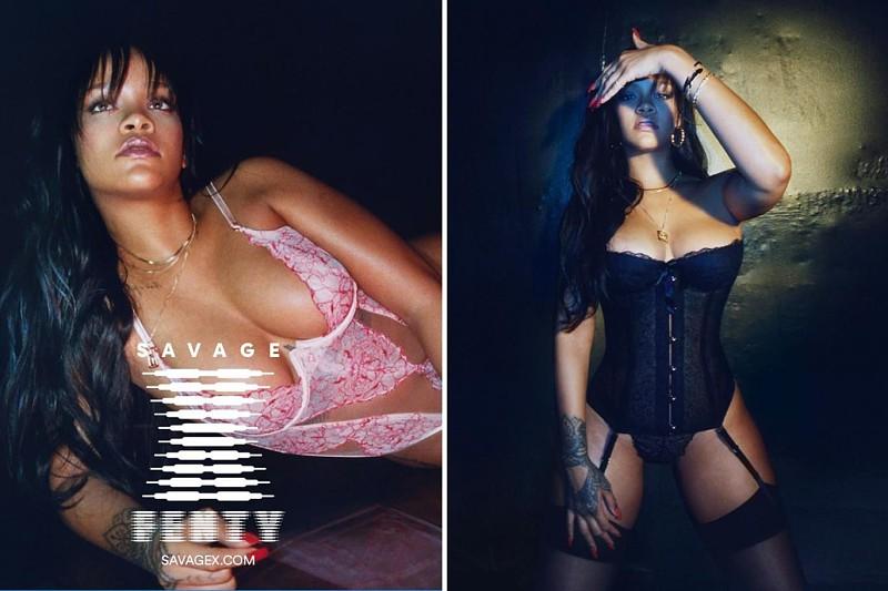 492089583 ... Savage X Fenty. Rihanna garante a fã que a sua marca de lingerie vai  alargar horizontes