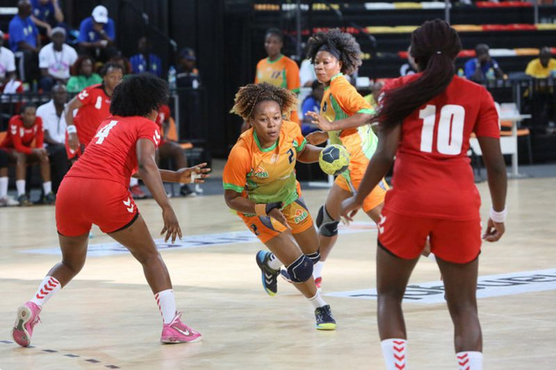 Andebol feminino: Costa do Marfim- RD Congo