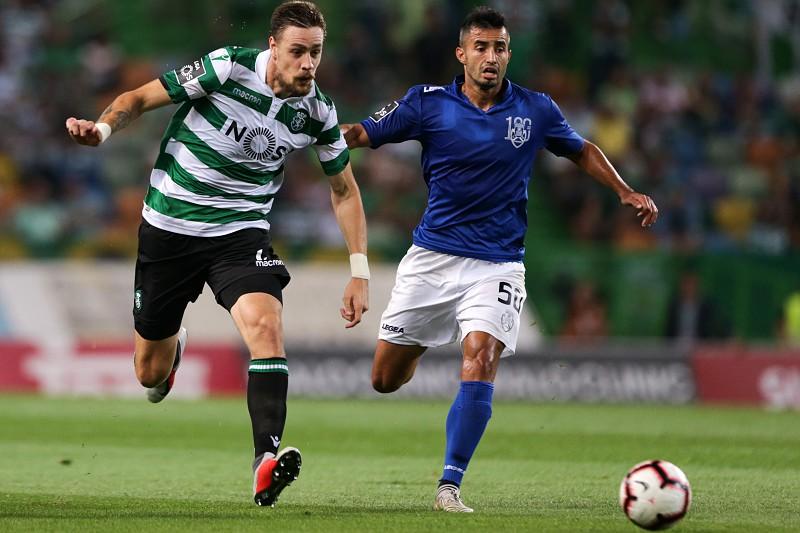 Sporting Feirense: Sporting E Feirense Empatados Ao Intervalo. Veja Os