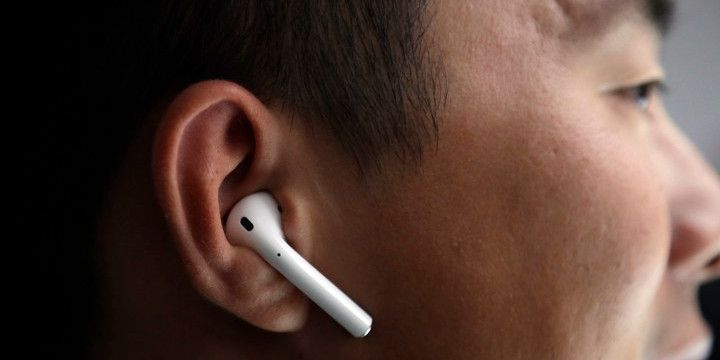 Apple regista patente para design de AirPod com sensores biométricos