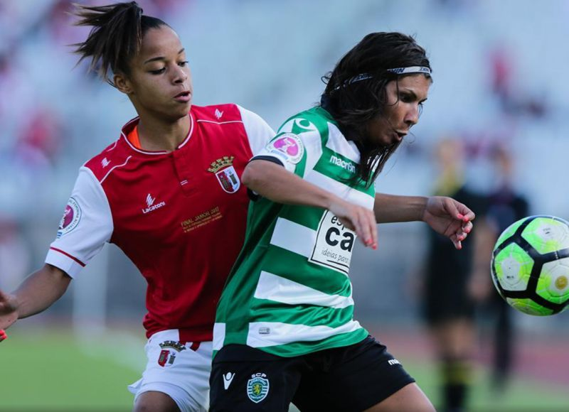 Futebol feminino: Sporting - SC Braga