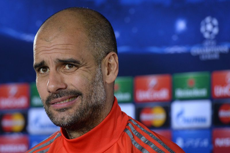 Pep Guardiola • CHRISTOF STACHE / AFP