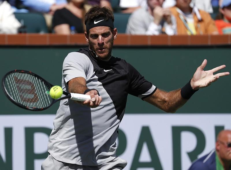 Indian Wells: Del Potro impõe primeira derrota do ano a Federer
