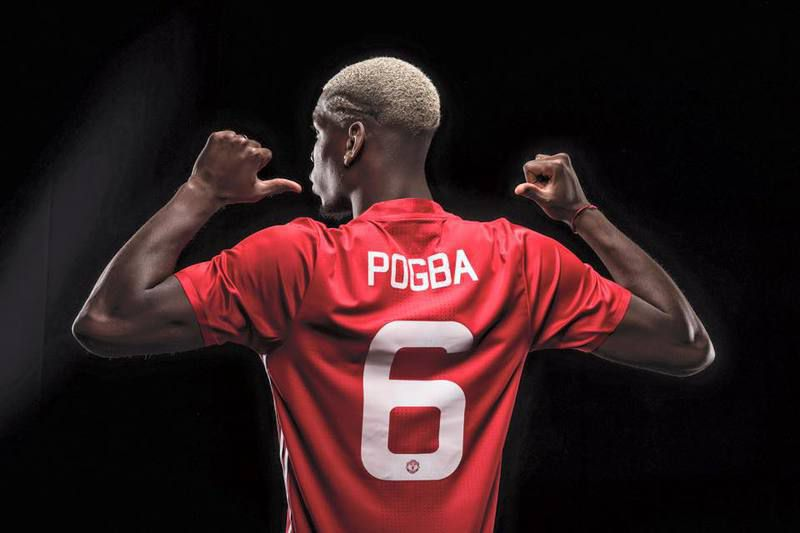 Paul Pogba • MANCHESTER UNITED
