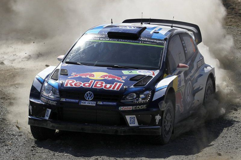 Rally Guanajuato Mexico 2016 • epa05197061 Finnish Jari-Matti Latvala drives his VW Polo R WRC during the second day of the Rally Guanajuato Mexico in Leon, Mexico, 05 March 2016.  EPA/Ulises Ruiz Basurto • Lusa