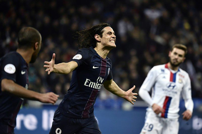 Edinson Cavani • JEFF PACHOUD / AFP