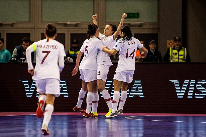 3d46457f63 Parlamento louva e aplaude seleção feminina de Futsal que se sagrou vice- campeã europeia