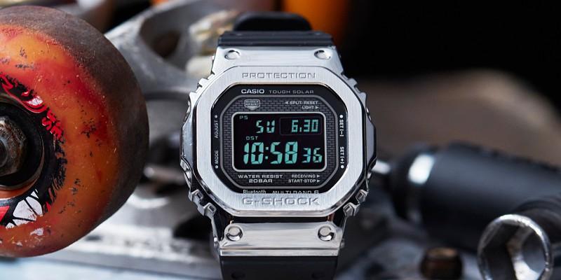 86d69aa36f2 Casio revela G-Shock com carregamento solar e pontualidade atómica ...