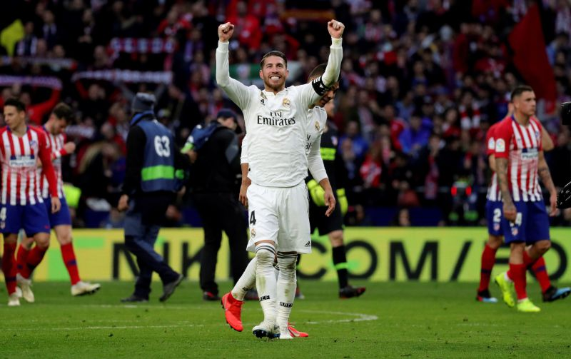 Real Madrid vence 3-1 em casa do rival Atlético e destrona-o do segundo lugar
