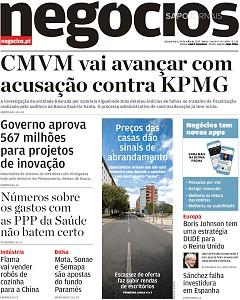 """Resultado de imagem para """"Jornal de negócios"""""""