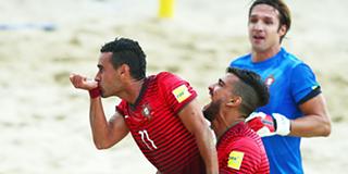 Futebol de praia  Portugal vence Suíça na Superfinal Liga Europeia e887629afe039
