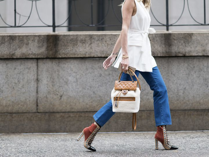 Como usar jeans num look casual chic