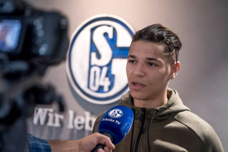 Amine Harit • Twitter do Schalke04