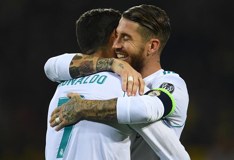Sergio Ramos sobre Ronaldo