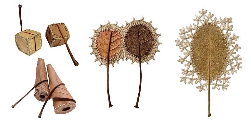 Resultado de imagem para susanna bauer folhas crochê