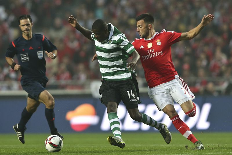 Benfica vs Sporting • MIGUEL A.LOPES / LUSA
