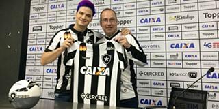 edc3b4478f1a0 Botafogo torna-se no 1.º clube profissional a ser patrocinado por um  youtuber