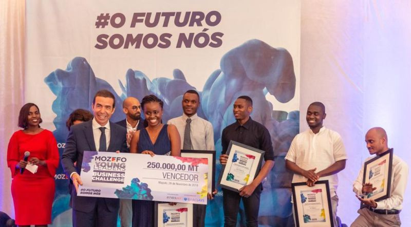 Barclays Bank Moçambique premeia melhor startup do Mozefo Young Leaders Business Challenge