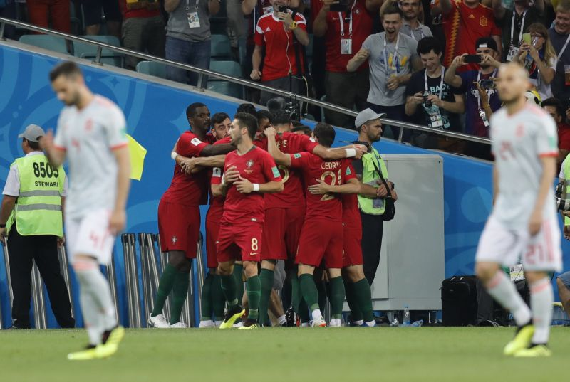 6882554b41 Mundial 2018  Braga aplaude Portugal e Cristiano Ronaldo - Mundial ...