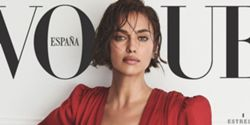 Irina Shayk revive moda dos anos 1980 na icónica capa da Vogue espanhola 3bc74878701