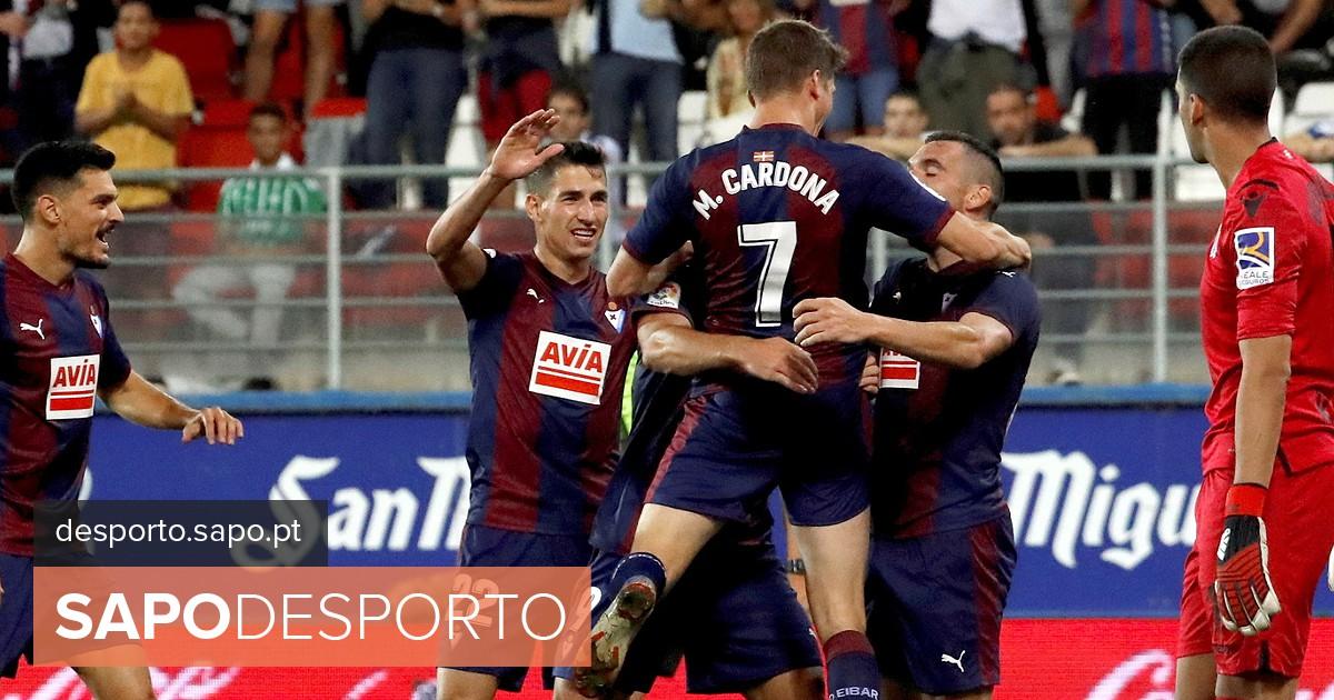 bcec2637ea Eibar de Paulo Oliveira soma primeira vitória na liga espanhola de futebol  - La Liga - SAPO Desporto
