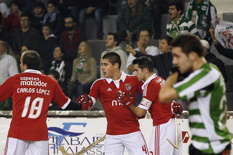 c4ccffddf2 Sporting e Benfica empatam a cinco no dérbi lisboeta - Hóquei - SAPO ...