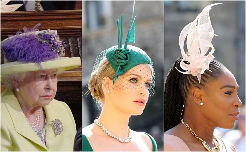 Os chapéus que mais se destacaram no casamento de Harry e Meghan ... 0bd9ed40b9e