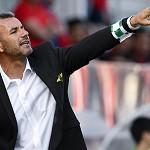Ivo Vieira, treinador do Moreirense, no jogo contra o Benfica. OCTAVIO PASSOS / LUSA