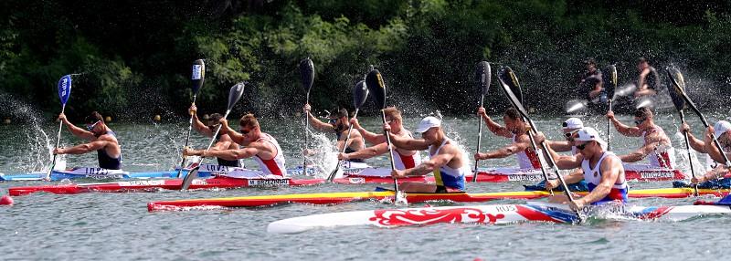 Resultado de imagem para K4 500 masculino na final dos mundiais de canoagem