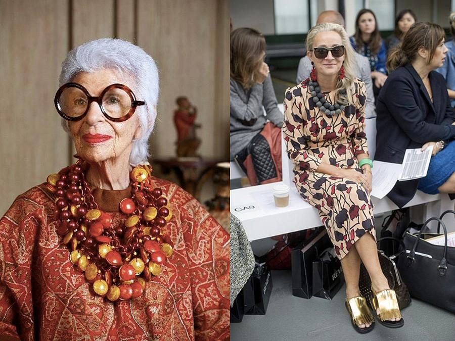 O estilo não tem idade