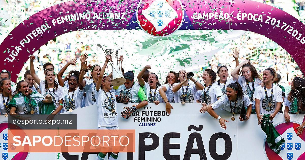 Sporting é bicampeão nacional de futebol feminino. Veja as imagens da festa  - Campeonato de Portugal Feminino - SAPO Desporto 7fac3f0fe2f76