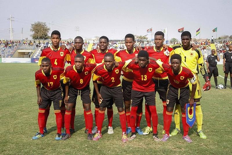 23b065b02fe3b Seleção sub-20 de Angola parte confiante para Toulon - Torneio ...