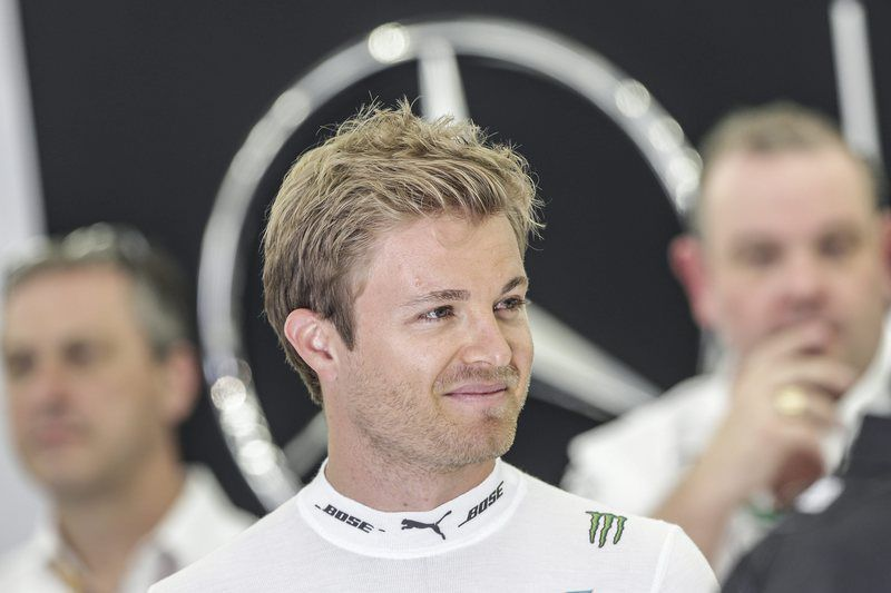 Bahrain Formula One Grand Prix • epa05240564 German Formula One driver Nico Rosberg of Mercedes AMG GP during the third practice session of the Bahrain Formula One Grand Prix at the Sakhir circuit near Manama, Bahrain, 02 April 2016. The 2016 Formula One Grand Prix of Bahrain will take place on 03 April 2016.  EPA/VALDRIN XHEMAJ • Lusa