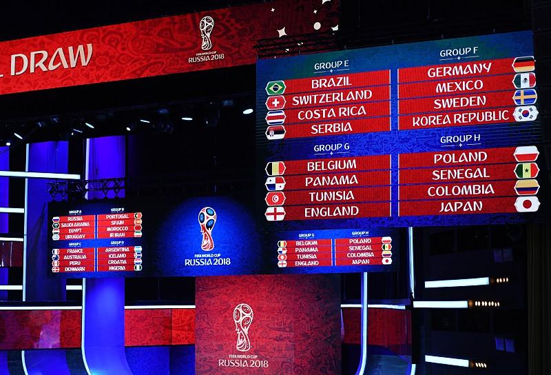 Mundial2018  Sorteio ditou grupos equilibrados e dificuldades para  candidatos a428306981bea