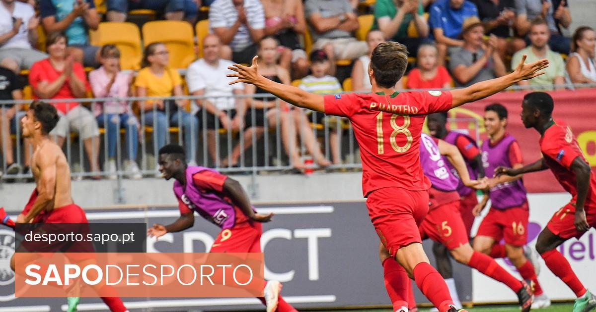 Histórico  Portugal sagra-se campeão europeu de sub-19 pela 1.ª vez após  jogo louco - EURO Sub 19 - SAPO Desporto 2f96e8c50409b