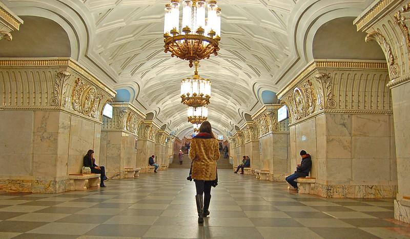 As mais belas estações de metro da Rússia
